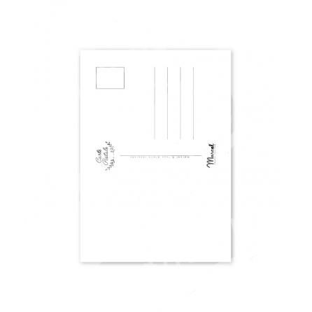 """Carte Postale Marcel CÔTE ATLANTIQUE """"Van Sunset""""  A5"""