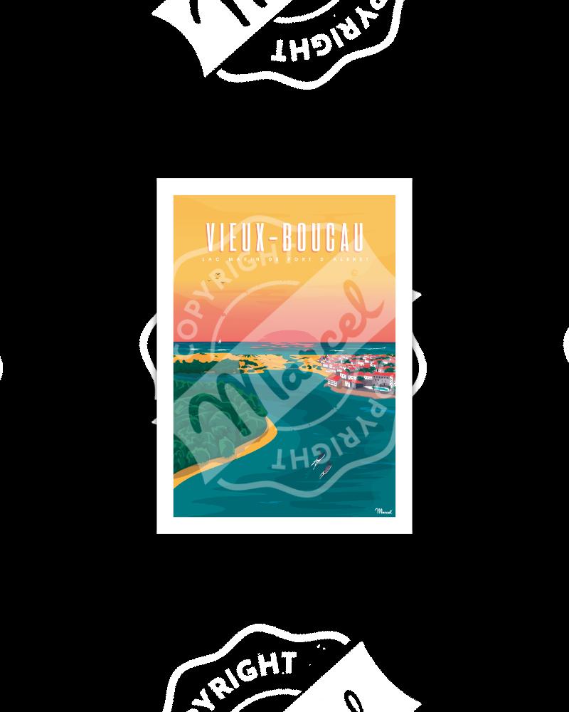 Carte Postale  VIEUX BOUCAU PORT D'ALBRET