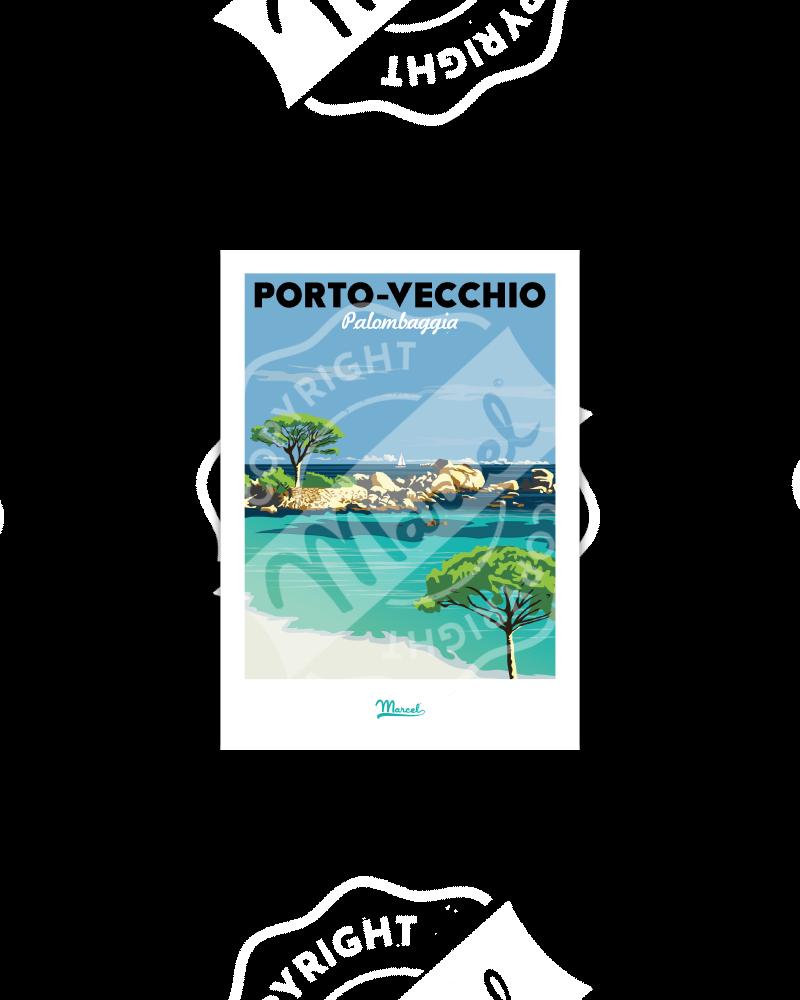 Postcard  Porto Vecchio...