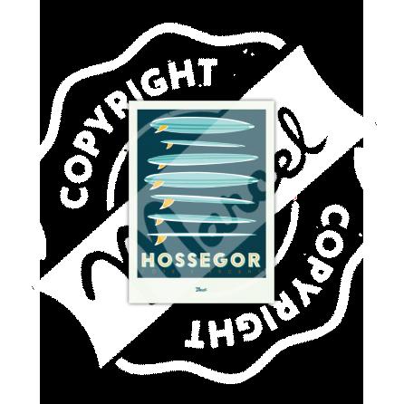 """Hossegor """"Surfboards"""""""