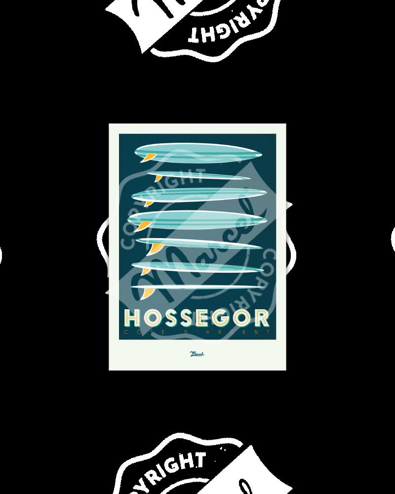 "Postcard Hossegor ""Surfboards"""