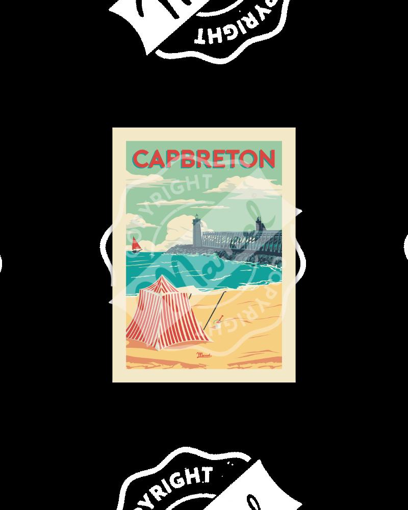 Postcard Capbreton...