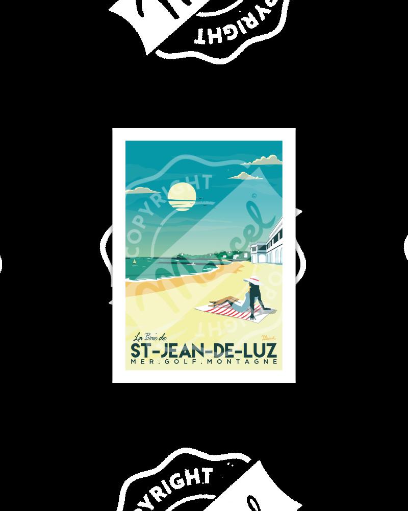 Postcard  Saint-Jean-de-Luz...