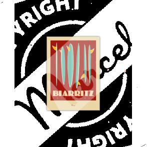 """Biarritz """"Surfboards"""""""