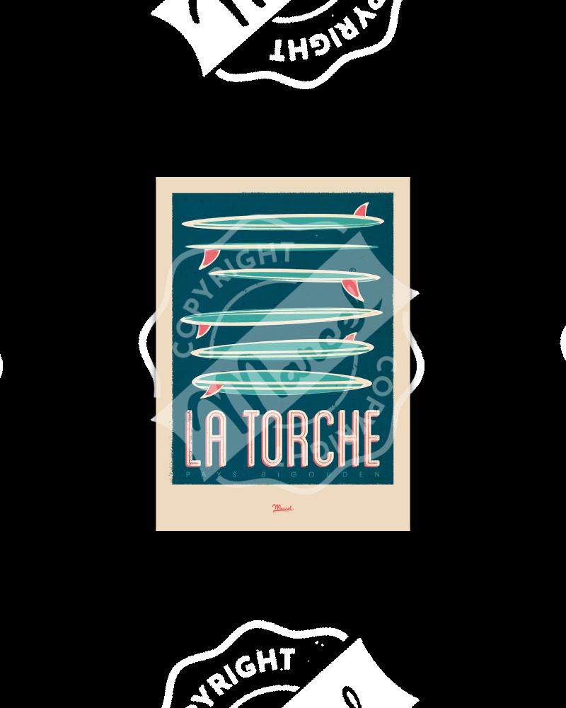 Postcard  La Torche...