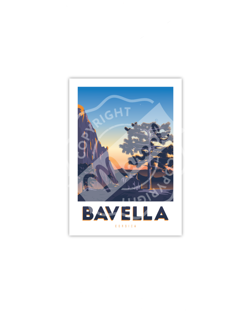"Postcard Corsica ""Randonnée à Bavella"""