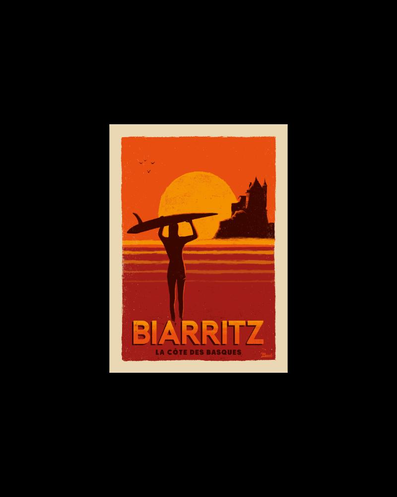 "Postcard  BIARRITZ ""Côte..."