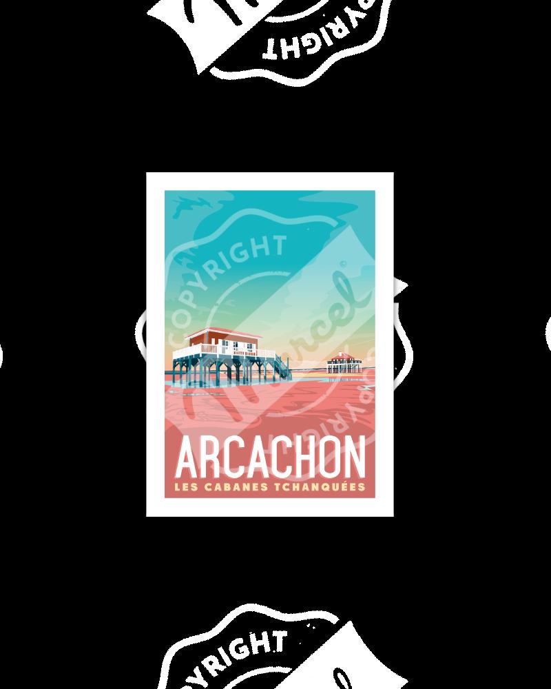 "Postcard  ARCACHON ""Les..."