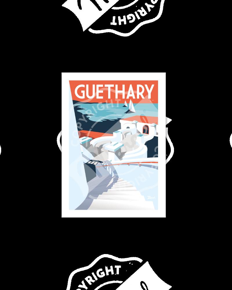 """Postcard GUETHARY """"La..."""
