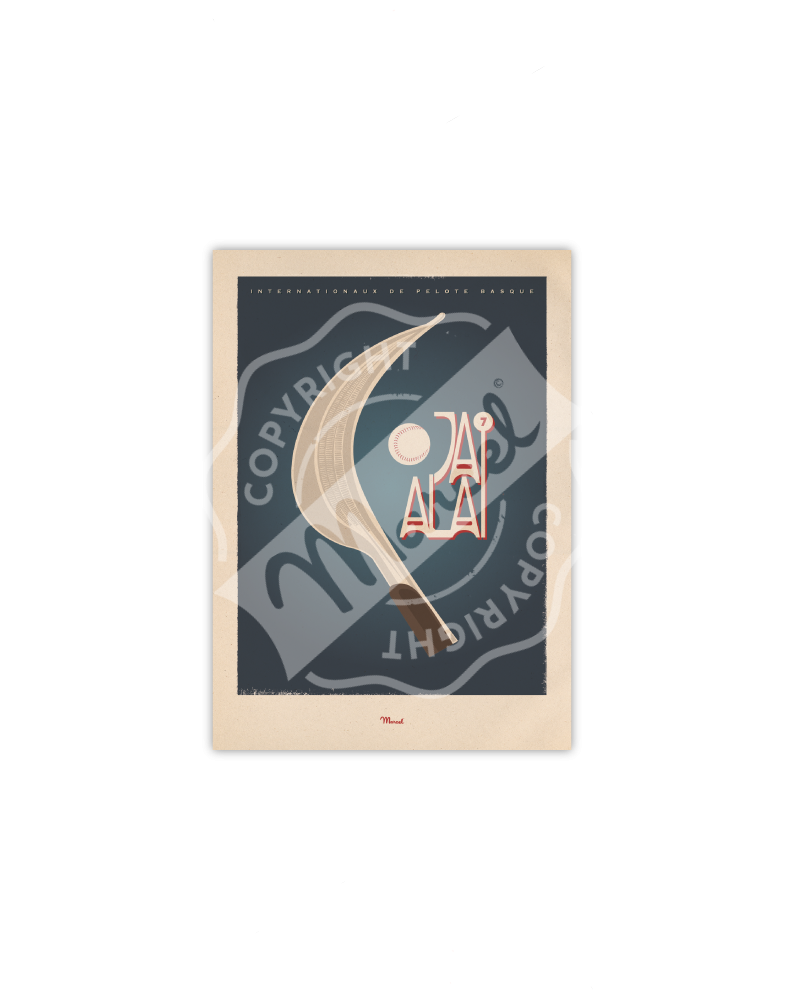 "Postcard  ""Jai Alai"""