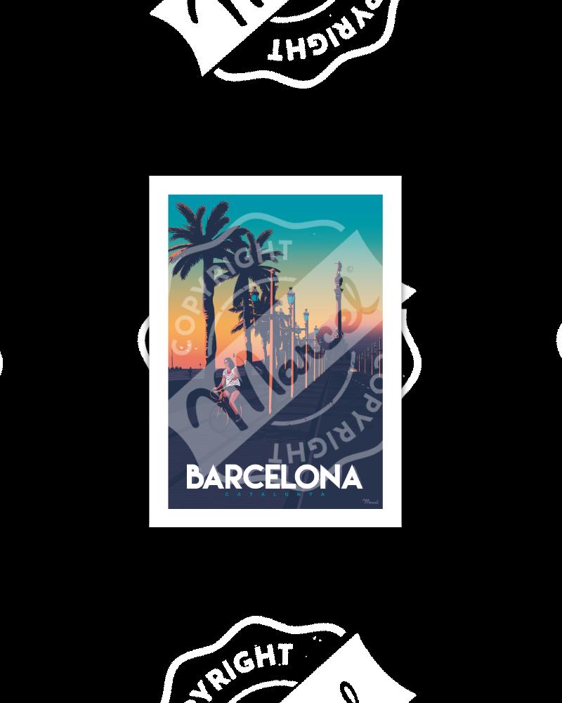 BARCELONA Passeig de Colom