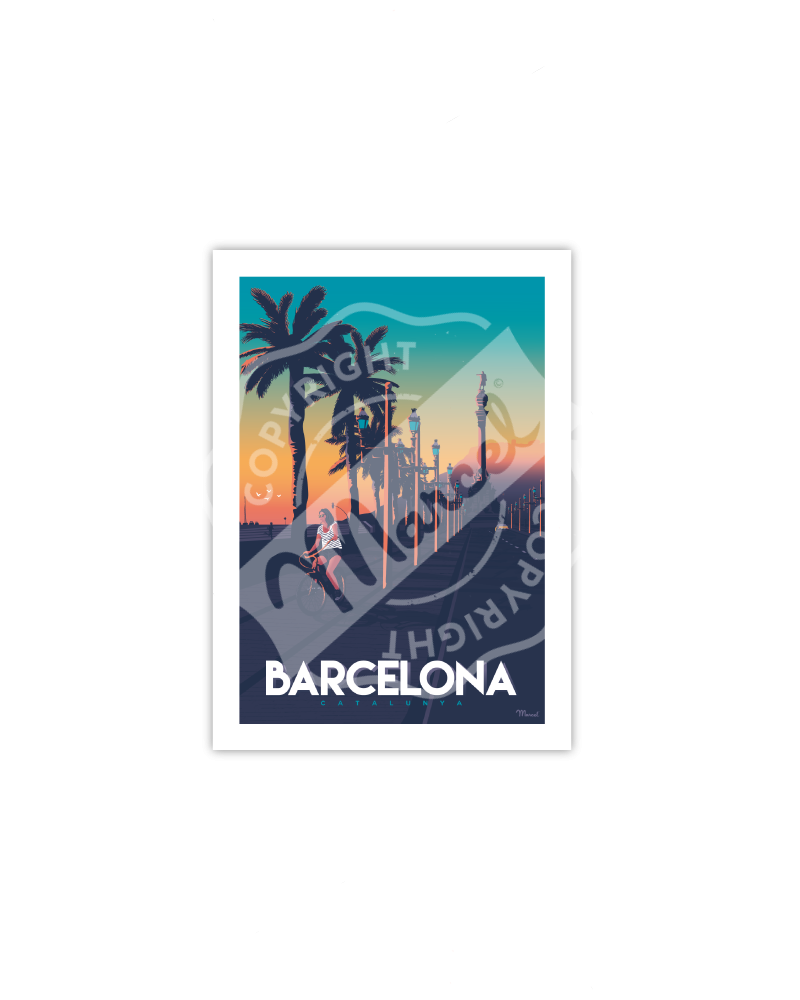Postcard  BARCELONA...