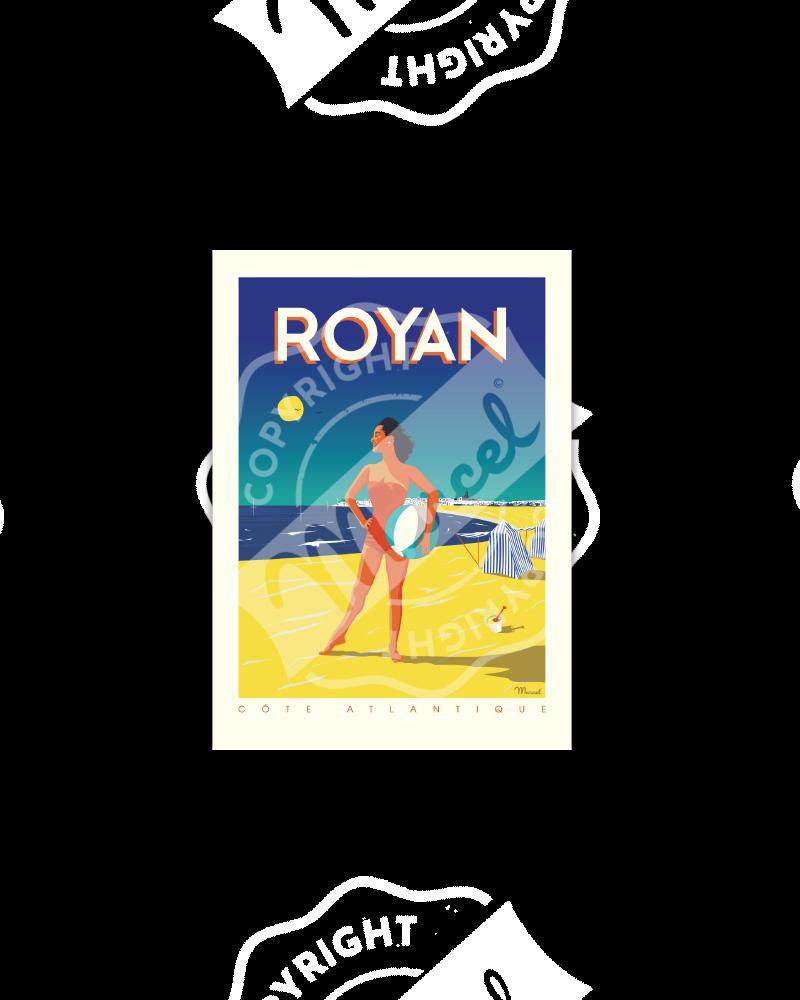 """Postcard  ROYAN """"Côte..."""