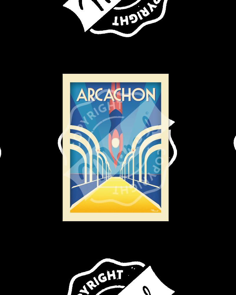 """Postcard ARCACHON """"Jetée..."""