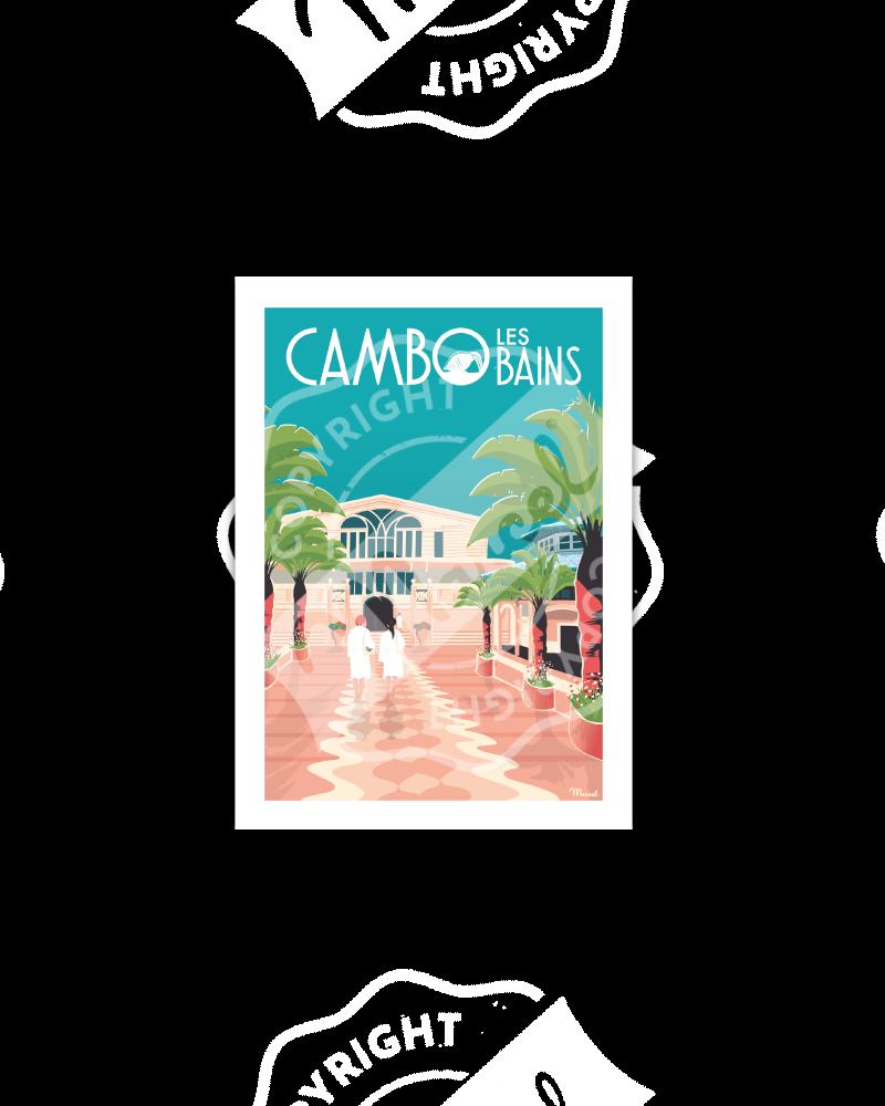 Postcard CAMBO-LES-BAINS...