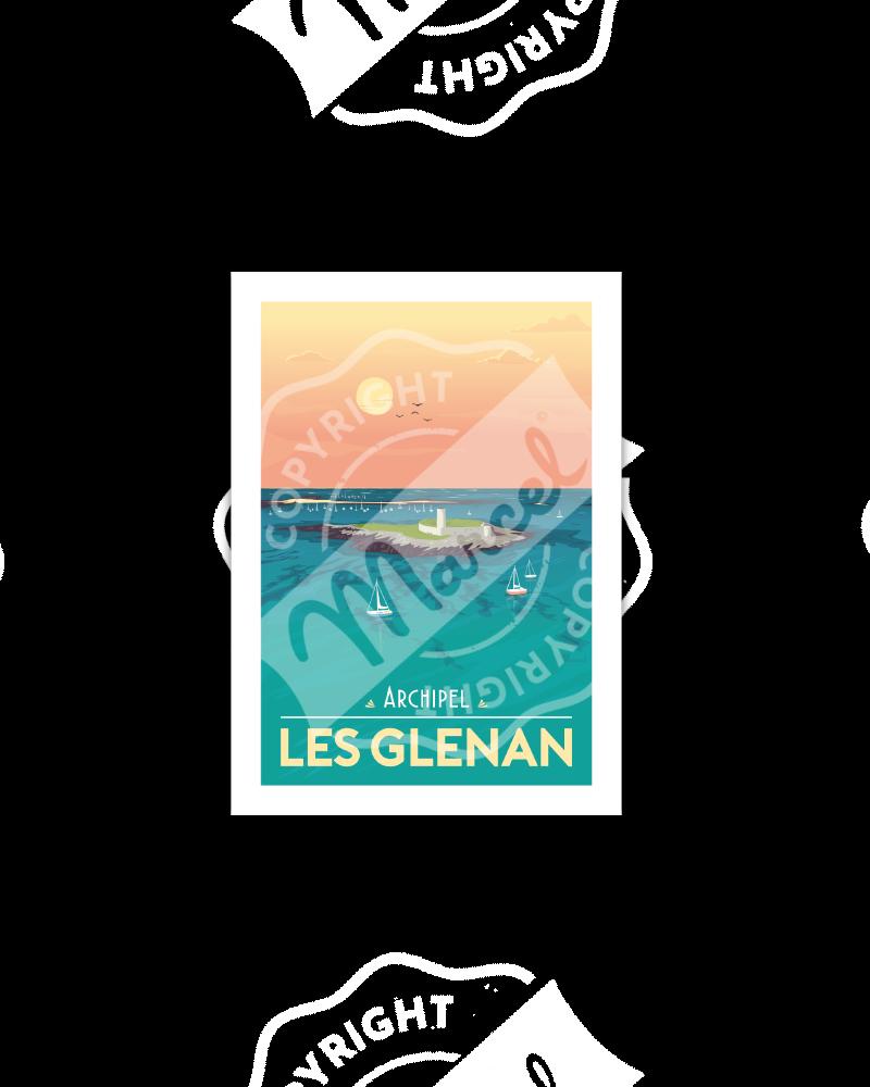 Postcard  ARCHIPEL LES GLENAN