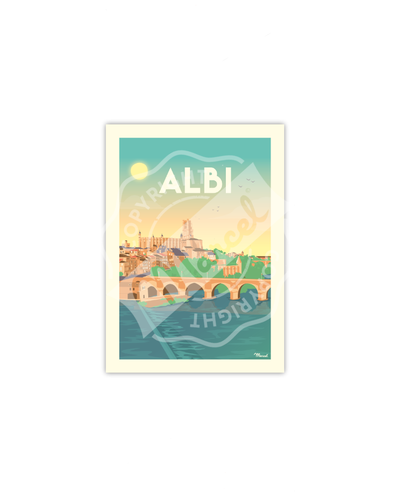 Postcard  ALBI