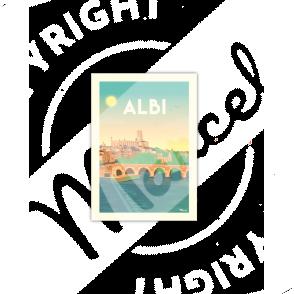 Carte Postale ALBI