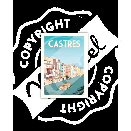 Carte Postale CASTRES