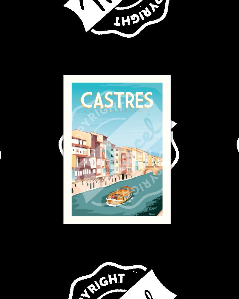 Postcard CASTRES