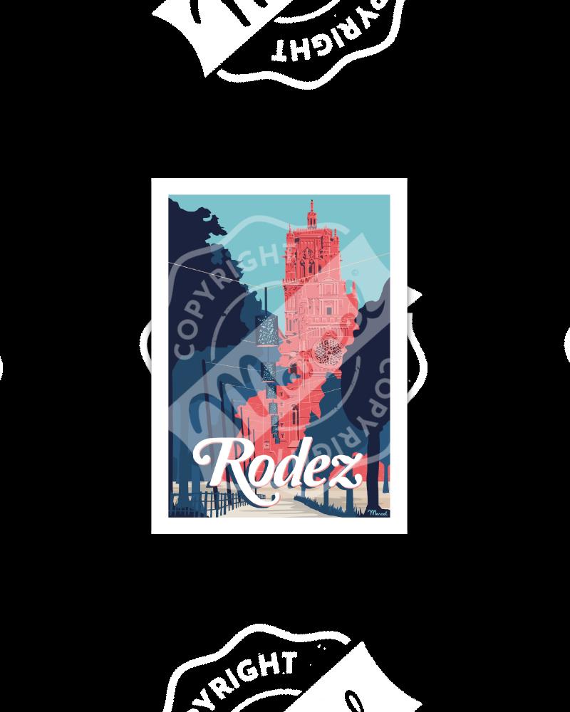 Postcard RODEZ