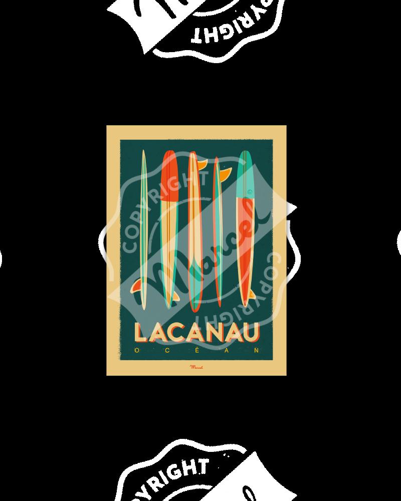 Postcard   LACANAU...