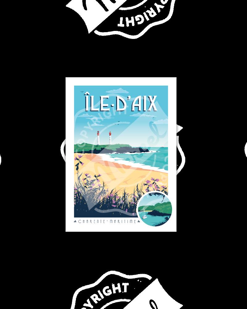 Carte Postale ÎLE-D'AIX