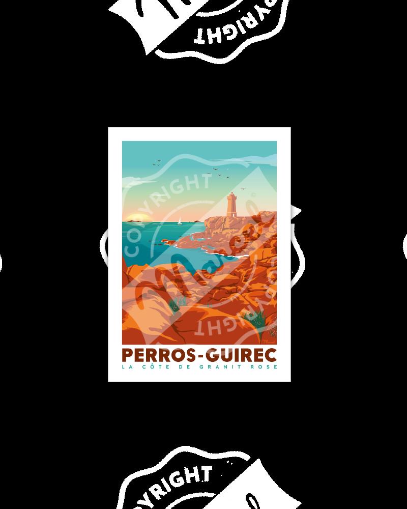 Postcard PERROS-GUIREC