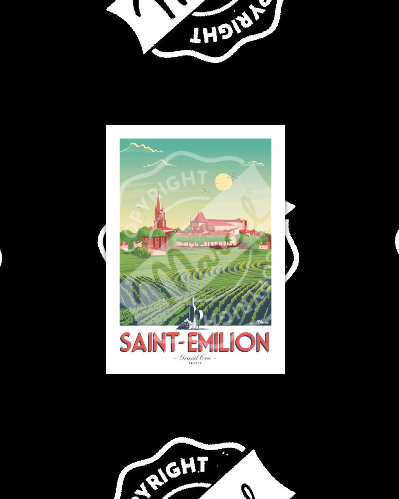 Postcard SAINT-EMILION