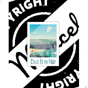 Carte Postale BELLE ILE EN MER