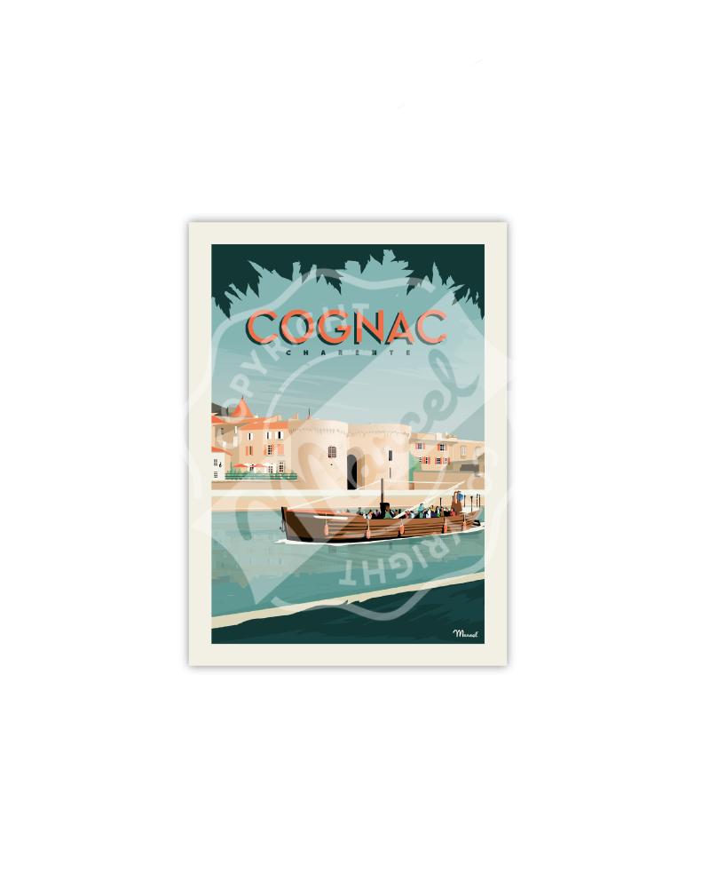 Postcard COGNAC