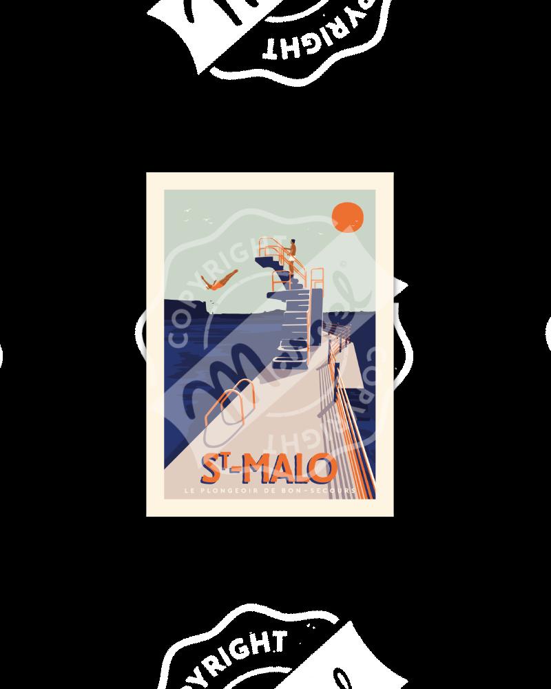 Postcard Marcel Saint-Malo-...