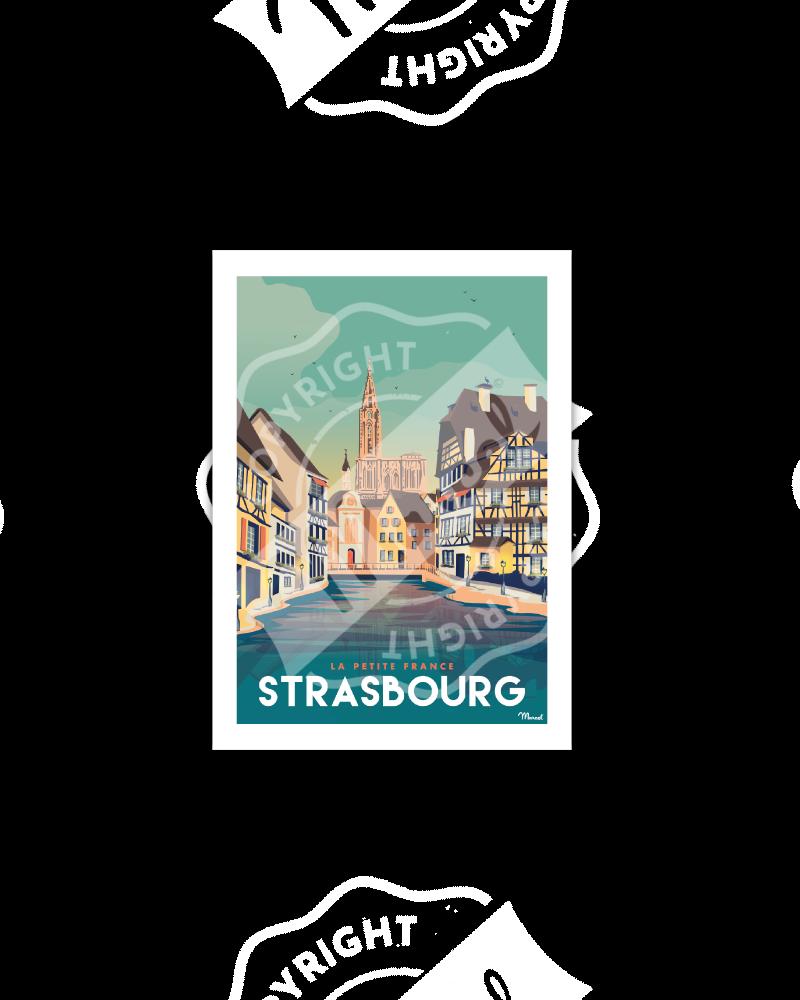 STRASBOURG «La Petite France»