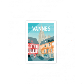 "Cartes Postales Marcel VANNES ""Place Henri IV"""