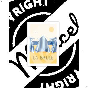 """Cartes Postales Marcel LA BAULE """"Les Tentes"""""""