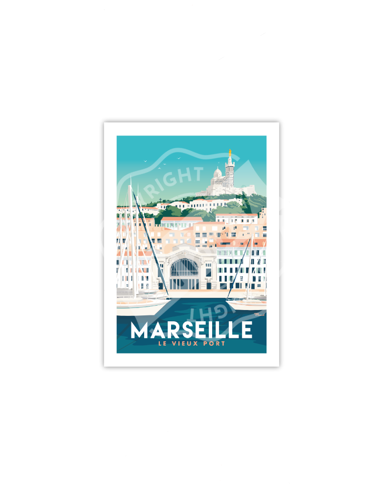 "Postcard MARSEILLE ""Le..."