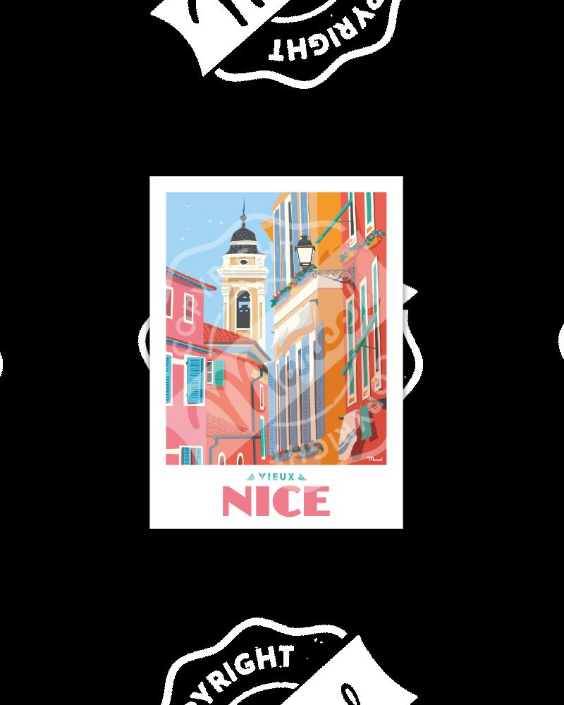 "Postcard NICE ""Le Vieux Nice"""