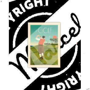 Cartes Postales Marcel LE GOLF