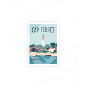 "Cartes Postales Marcel CAP FERRET ""Le Phare"""