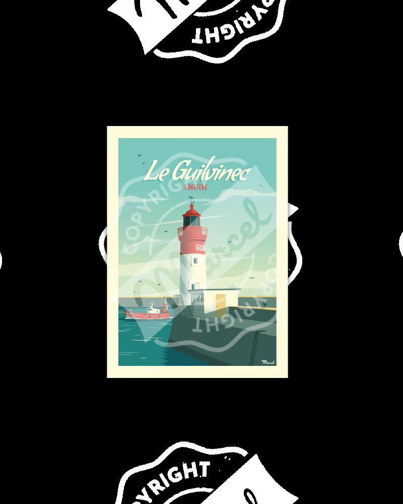 Postcard LE GUILVINEC