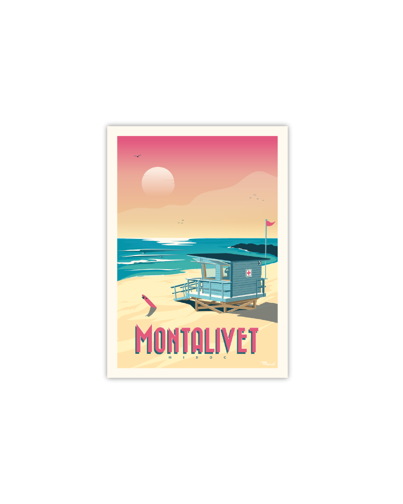 Postcard Montalivet