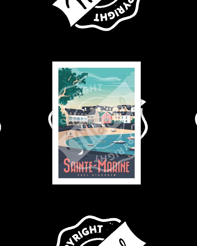 Postcard SAINTE MARINE