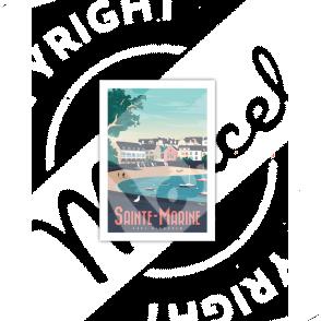 Cartes Postales Marcel SAINTE MARINE