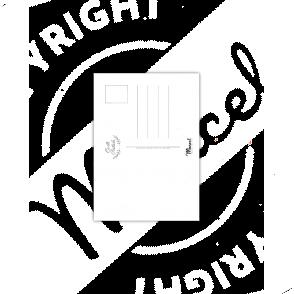 Cartes Postales Marcel CAP-FERRET TYPOGRAPHY