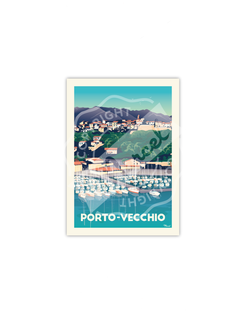 Postcard Porto-Vecchio Le Port