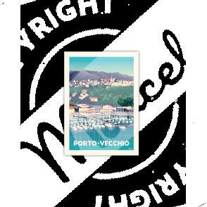 Cartes Postales Marcel Porto-Vecchio Le Port