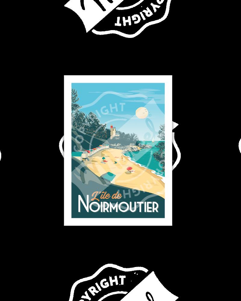 Postcard NOIRMOUTIER