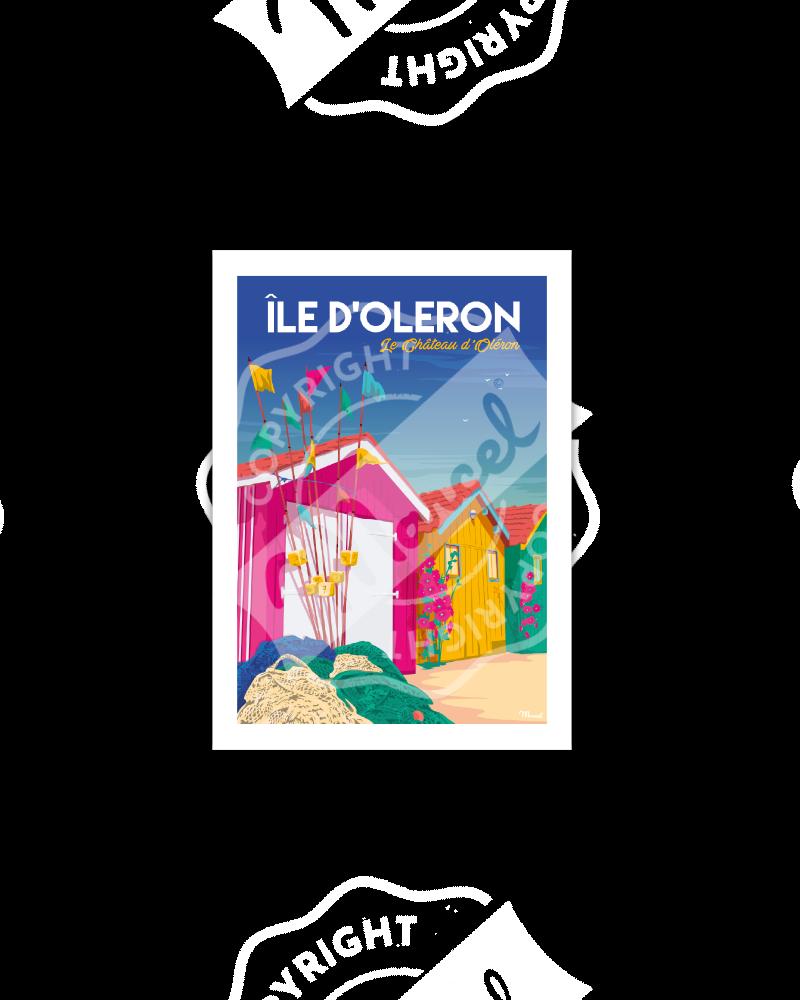 Postcard ILE D'OLERON...
