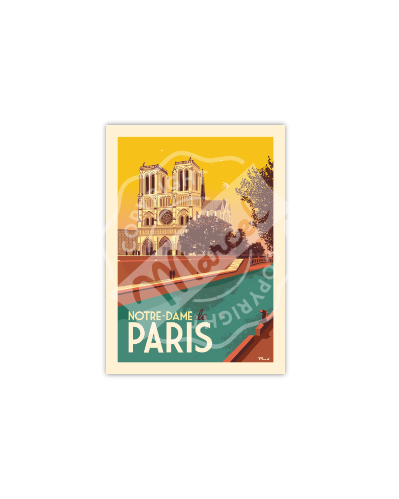 Postcard NOTRE-DAME DE PARIS