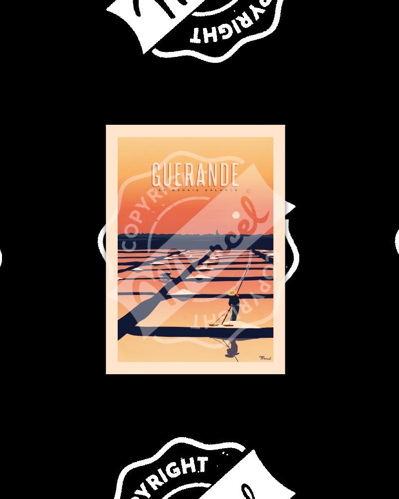 Postcard GUERANDE